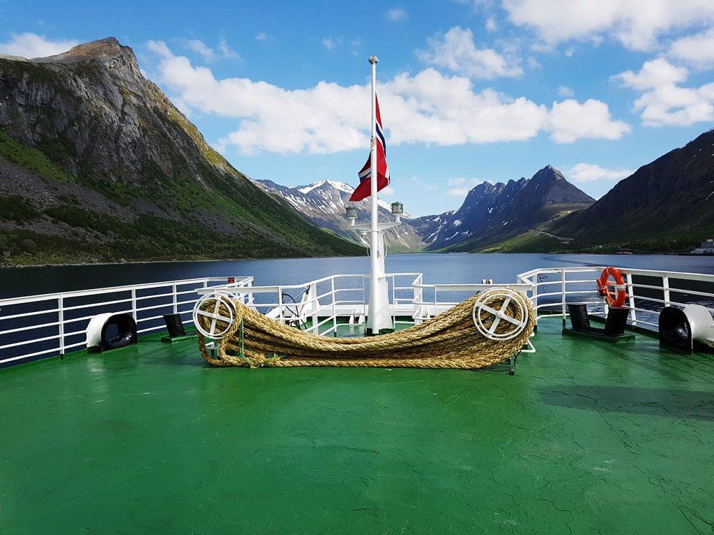 Veerboot naar Andenes