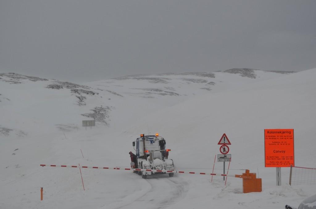 Konvooi naar de Noordkaap