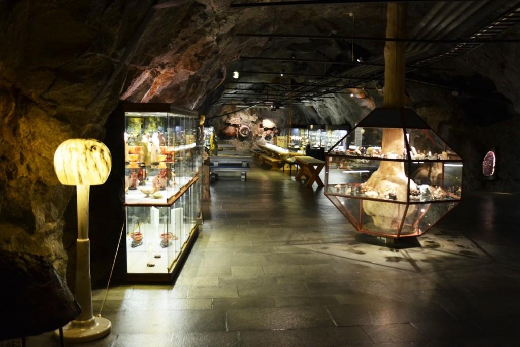 Setesdal Mineralparken bij Kristiansand in Noorwegen