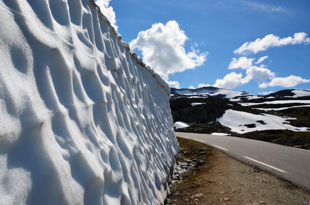 Snoveien in Noorwegen