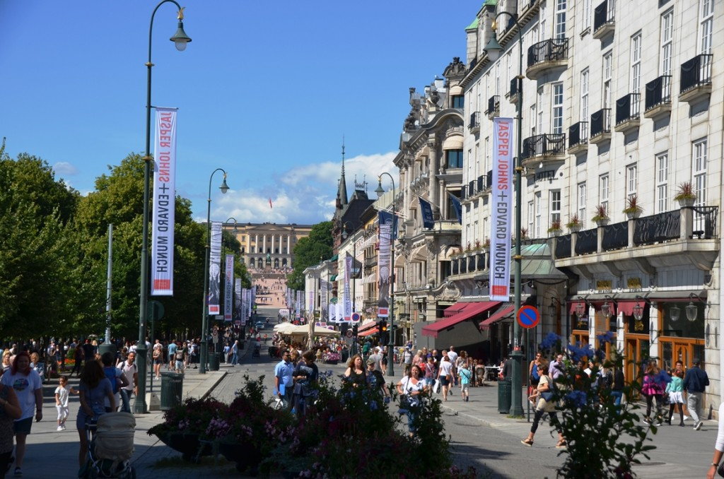 Centrum van Oslo