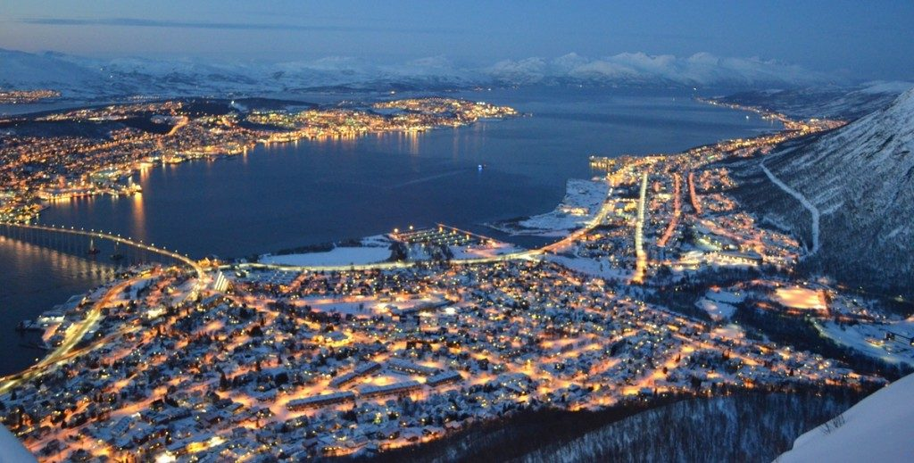 Tromso in de winter