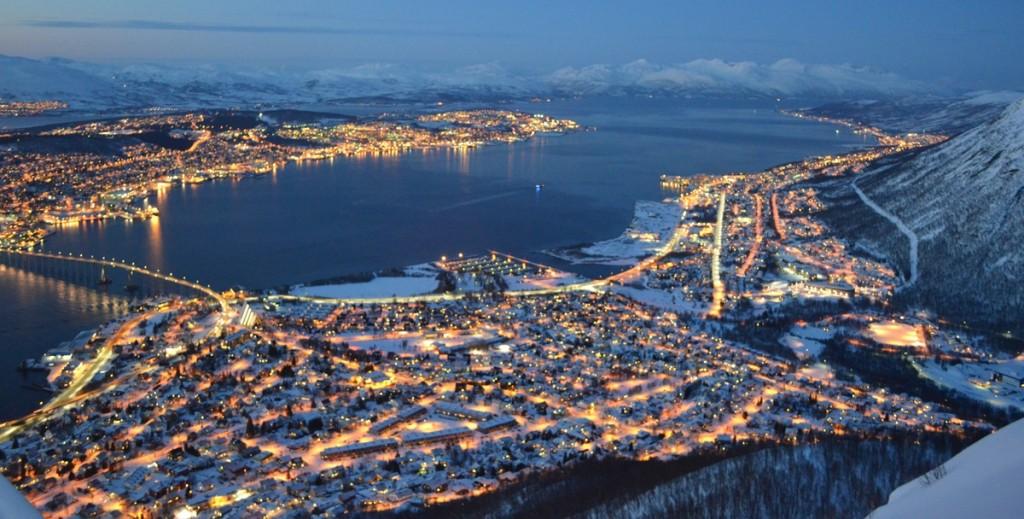 Tromso in de winter
