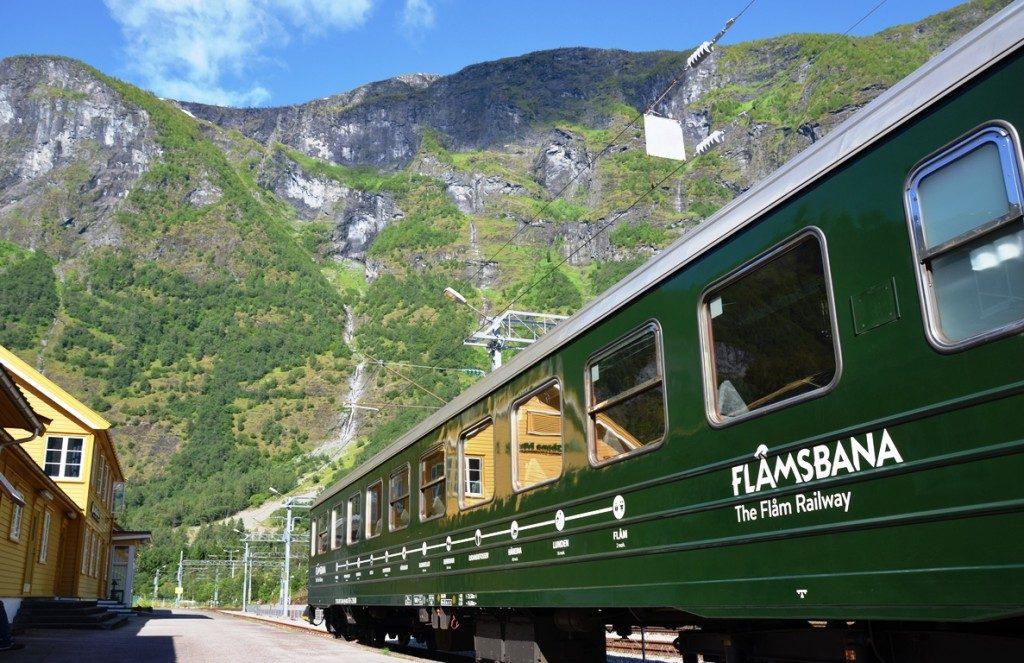 cruise naar Noorwegen: Flam